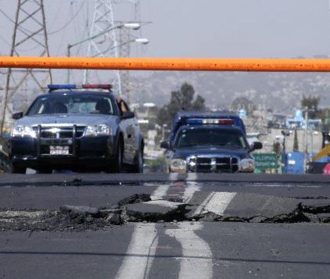 Temblor de 6.4 grados Richter sacude a la capital mexicana