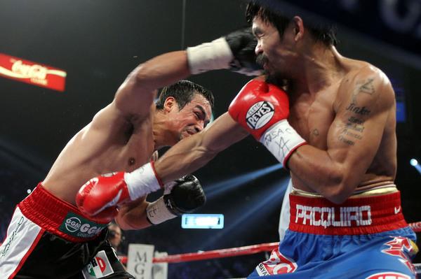 Márquez busca la cuarta pelea ante Pacquiao