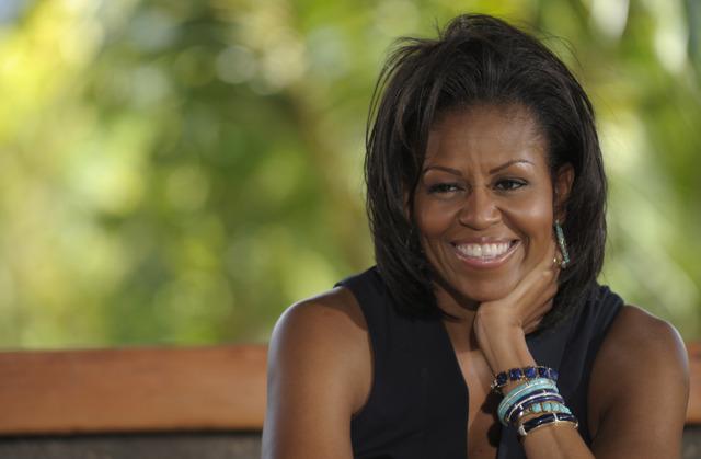 Michelle Obama inicia gira en apoyo a militares
