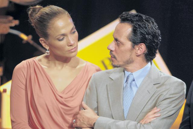 Marc Anthony y J.Lo en tiempos 'más felices'.