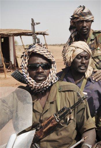 Soldados norsudaneses el pasado 28 de marzo en la zona fronteriza con Sudán del Sur.