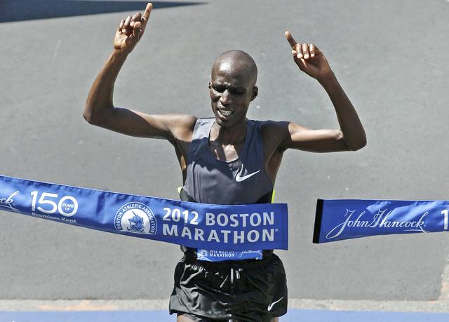 Wesley Korir ha ganado dos veces el Maratón de Los Ángeles.