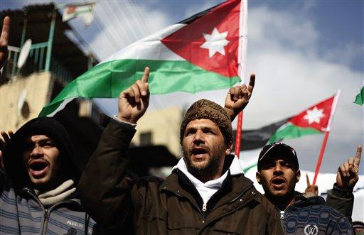 Jordanos quieren reformas políticas