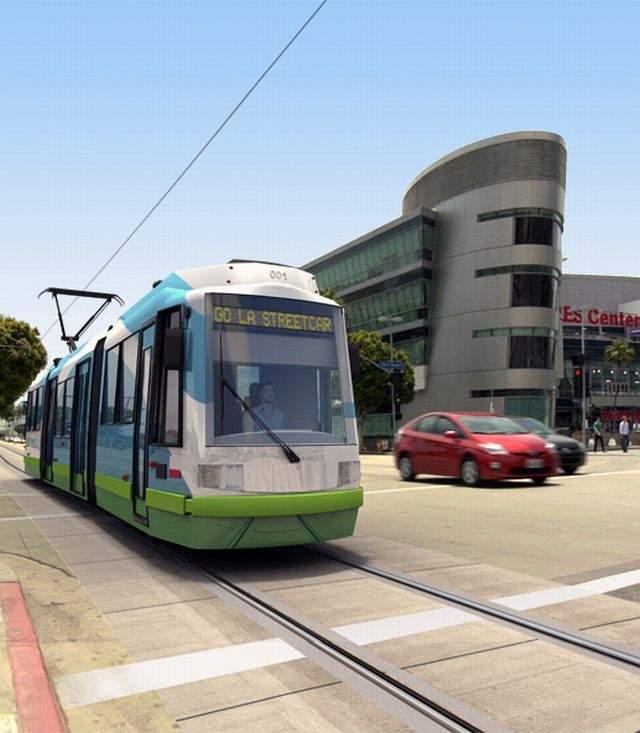 Reviven el pasado de los tranvías de Los Ángeles