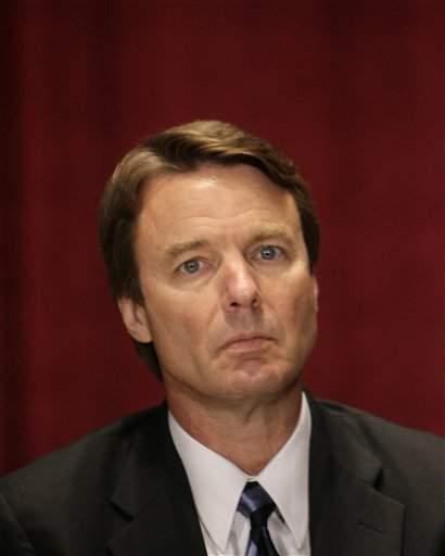 El exsenador John Edwards.