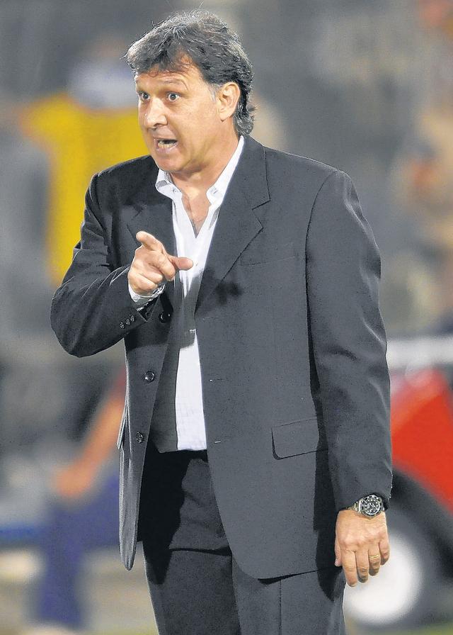 Gerardo 'Tata' Martino, técnico del Newell's Old Boys.