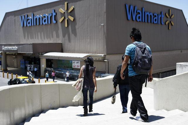 Vista de una tienda  Walmart en la ciudad mexicana de Puebla.