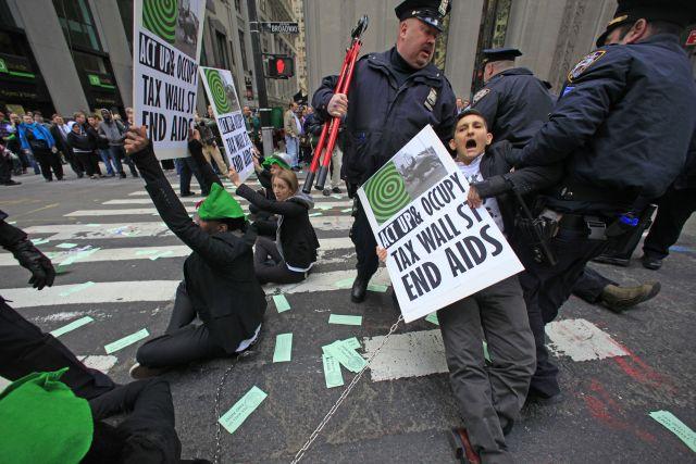 Esta imagen revela parte de lo ocurrido esta mañana en el bajo Manhattan.