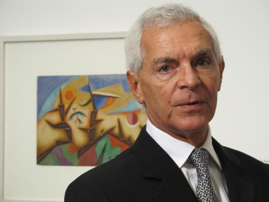 El fundador del museo MALBA, Eduardo F. Costantini, prestó obras al Museo de Bellas Artes de Houston.