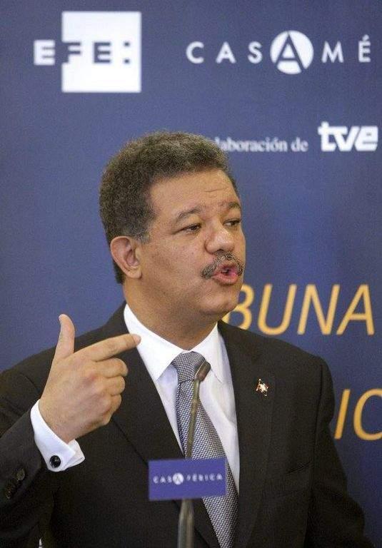 Presidente Leonel Fernández.
