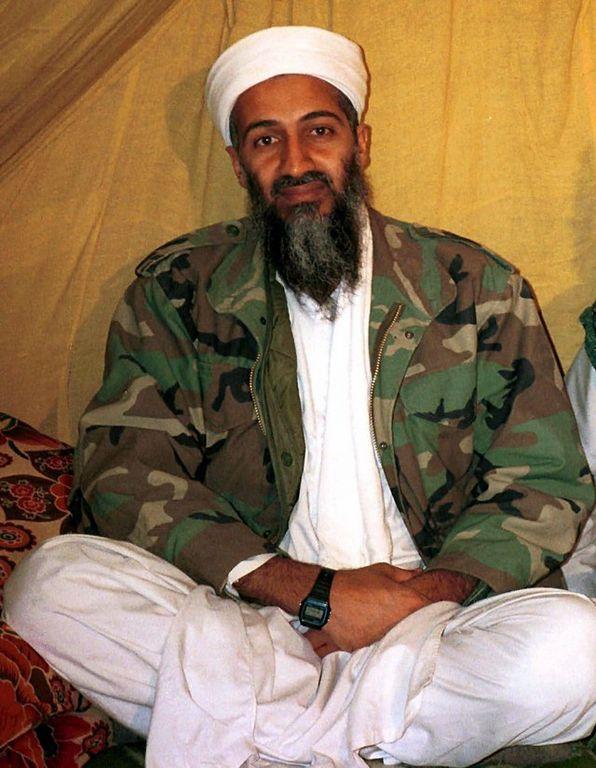 El jefe de al-Qaida Osama Bin Laden.