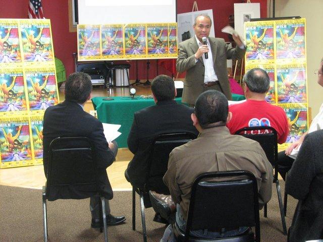 José Luis Gutiérrez, director adjunto de la organización NALACC habla del evento.