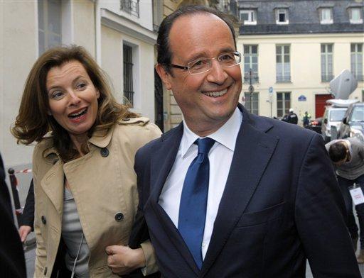 Hollande se encuentra ante las puertas de convertirse en el segundo socialista electo presidente de Francia.