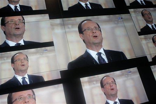Francois Hollande supera por 3 puntos porcentuales a Sarkozy según sondeos.