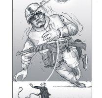 Muestra de tres maestros de la caricatura política en México