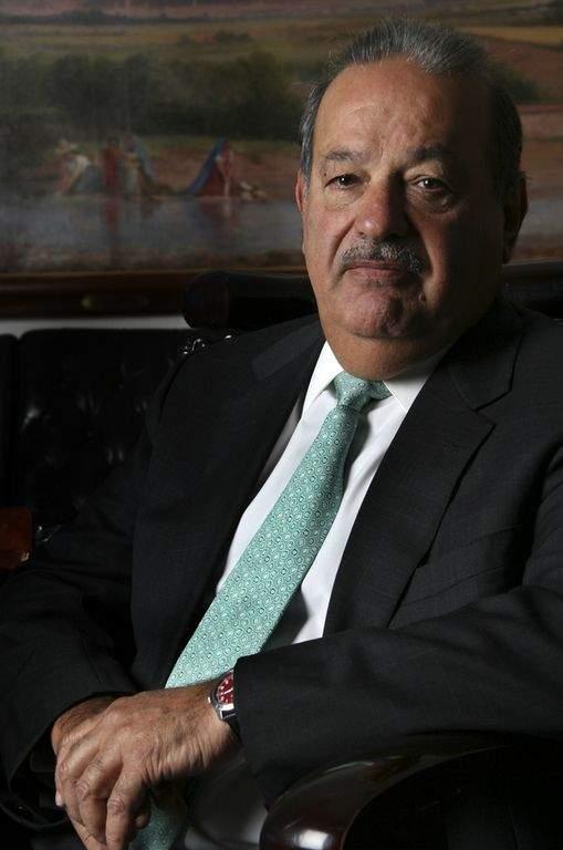 Carlos Slim considerado el hombre más rico del mundo.