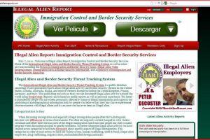 Rastrean indocumentados a través de sitio web