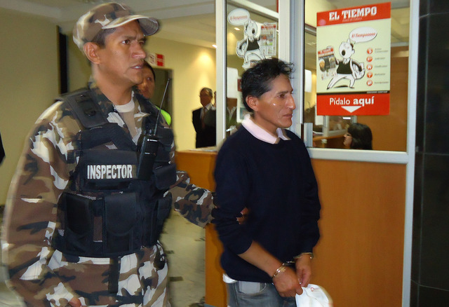 Luis Agustín Guamán Cela fue condenado a prisión.