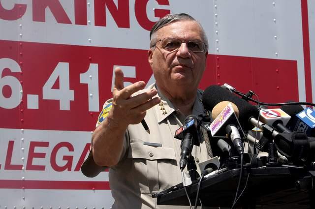 Gobierno demanda hoy a Sheriff Arpaio