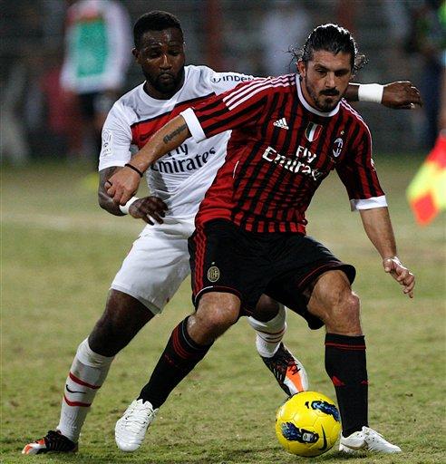 Inzaghi y Gattuso se van del AC Milan