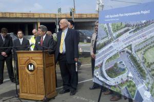 Esperan el 'Carmagedón II' por obras en autopista 405