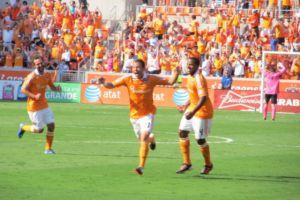 El Dynamo de Houston inaugura su estadio con victoria