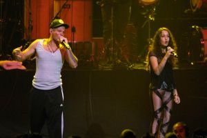 Calle 13 actuó el domingo en LA con su habitual energía