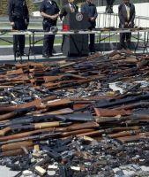 ¿Cuántas armas ilegales siguen en las calles?