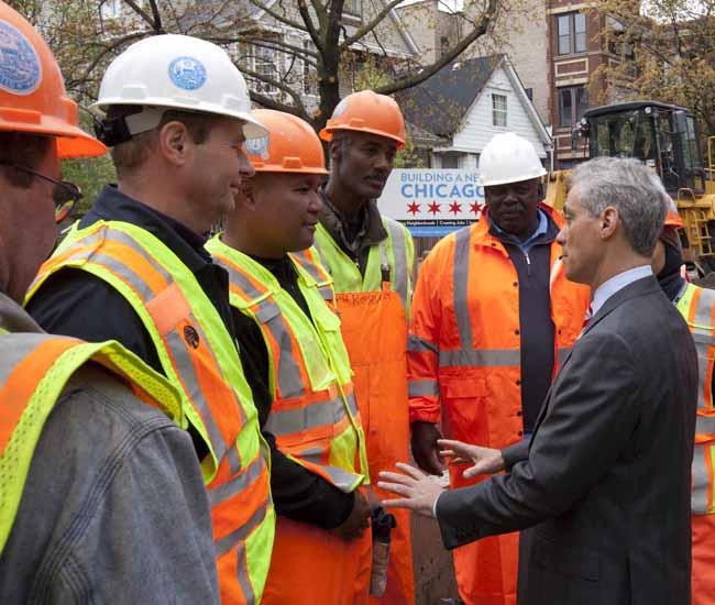 Cumple Rahm Emanuel un año al frente de alcaldía de Chicago