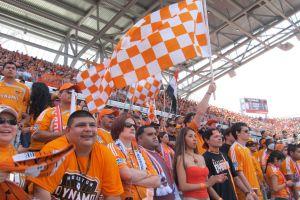 Luz y sombra del nuevo estadio del Dynamo