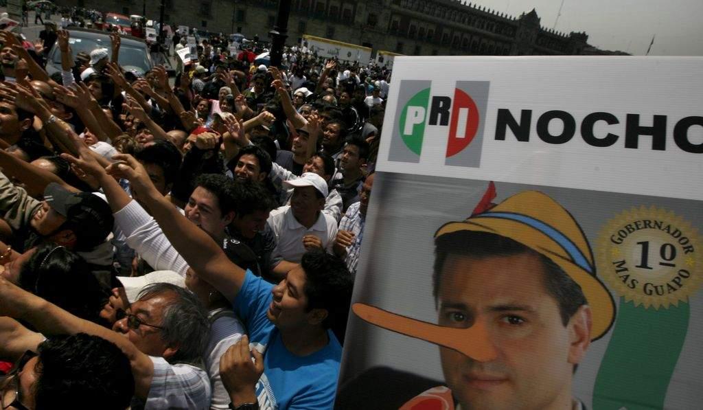 Marchan miles en México contra Peña Nieto