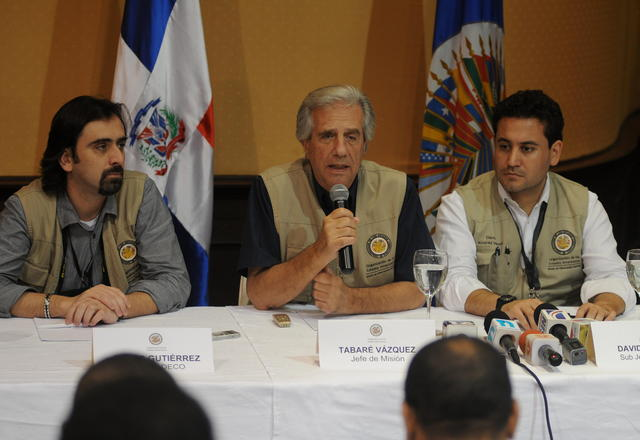 OEA alaba  comicios en Dominicana