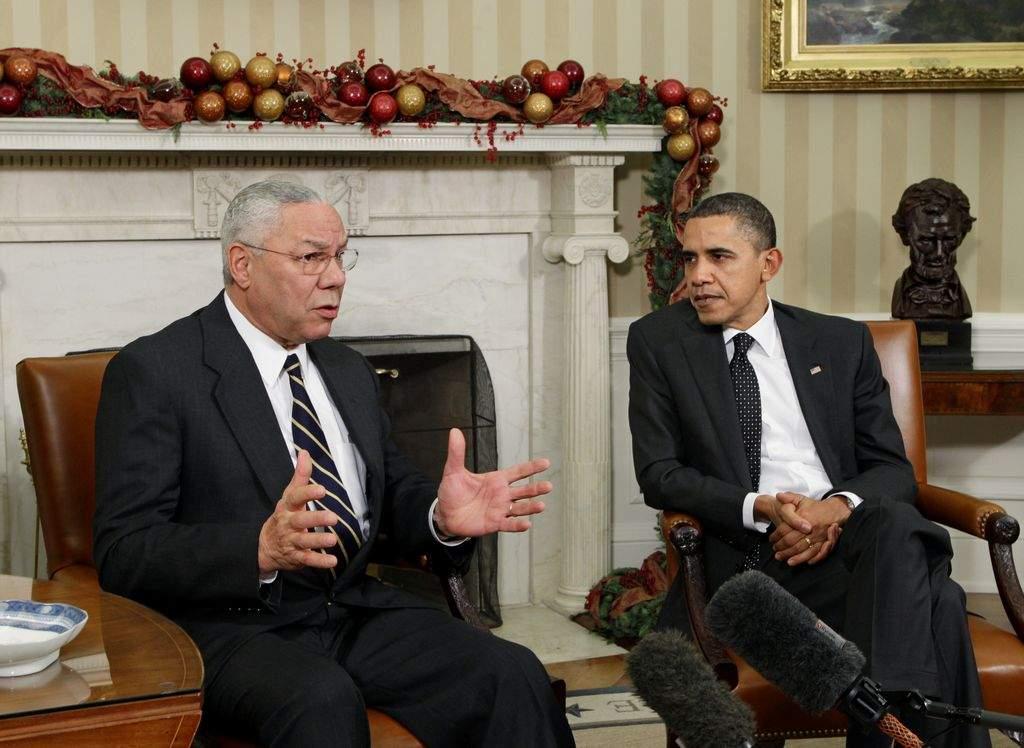 Powell no apoya a Obama