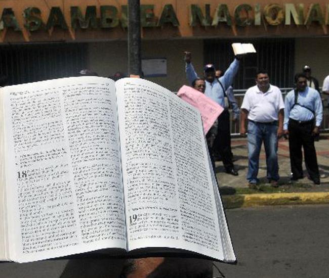 Nicaragua en debate por matrimonios gay