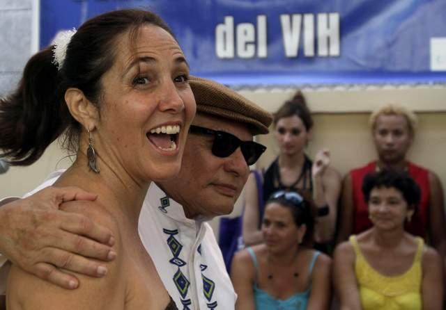 Mariela Castro (i) se encuentra en California, donde esta semana acude a varios eventos.