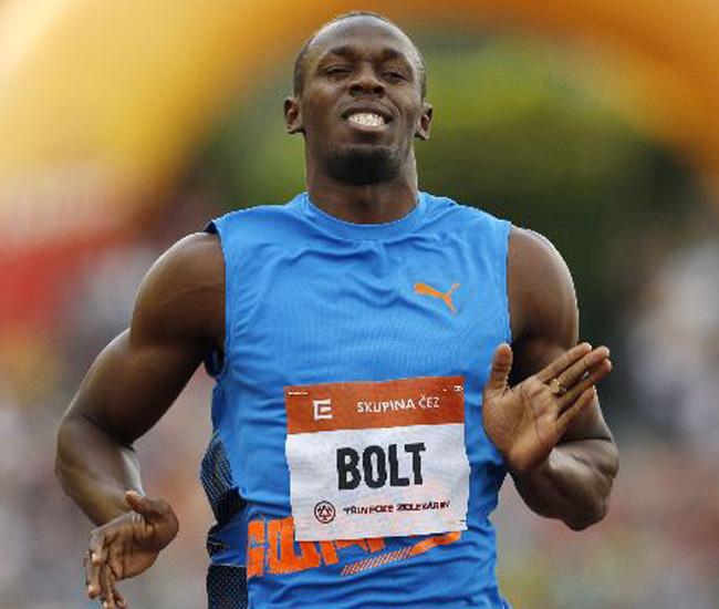 El jamaicano Usain Bolt, plusmarquista mundial y campeón olímpico de 100 y 200 metros.
