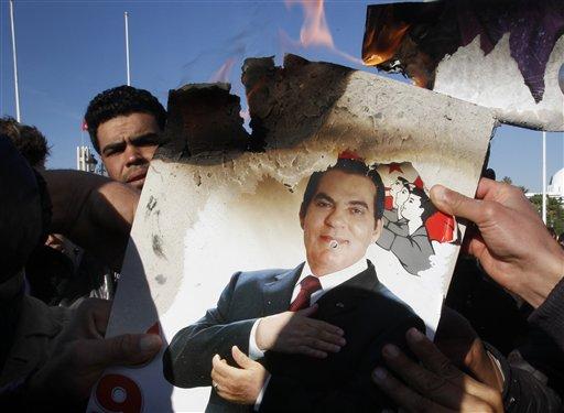 Túnez fue el primer país del Magreb en el que se desencaderon protestas que acabaron con la presidencia de Ben Alí.