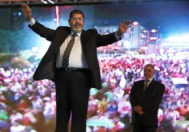 Mursi a  segunda vuelta en Egipto