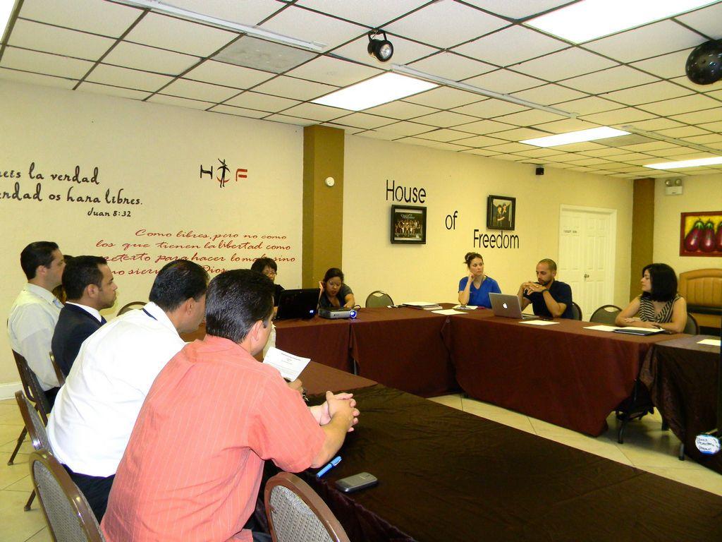 Orlando Vargas, presidente del concilio,  debate sobre esfuerzos y planes para esta agrupación.