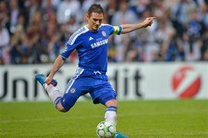 Frank Lampard se pierde la Eurocopa