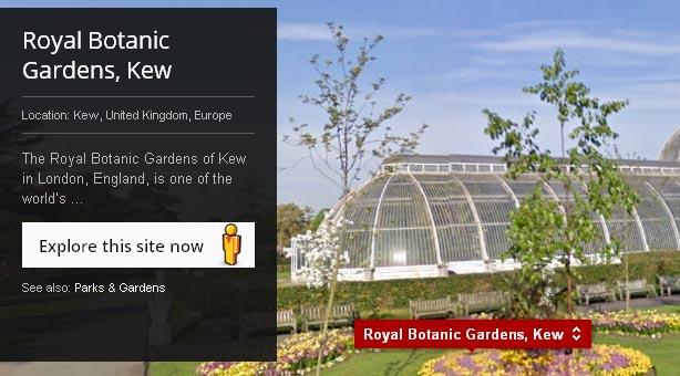 A través de la aplicación, el usuario puede pasear por espacios tan impactantes como las ruinas de Pompeya (Italia), los antiguos templos de Kioto o el monumento megalítico de Stonehenge (Reino Unido).