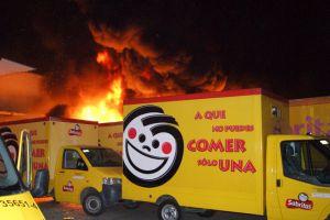 Nuevo ataque contra camión de Sabritas en México