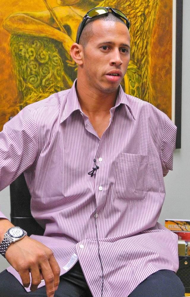Rafael Castillo aspira unirse al equipo paraolímpico de EEUU.