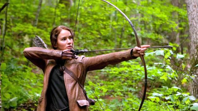 Jennifer Lawrence es Katniss Everdee en el filme 'Hunger Games' ('Los juegos del hambre') .