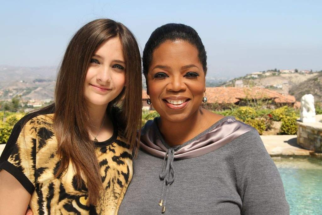 """Paris Jackson, de 14 años, se presentará en el programa """"Oprah's Next Chapter""""."""