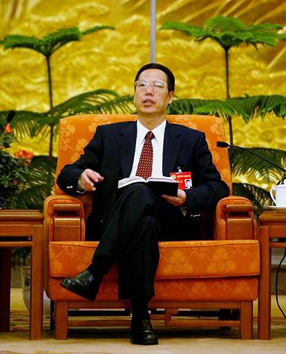 Zhang Gaoli, vice primer ministro de China continental.