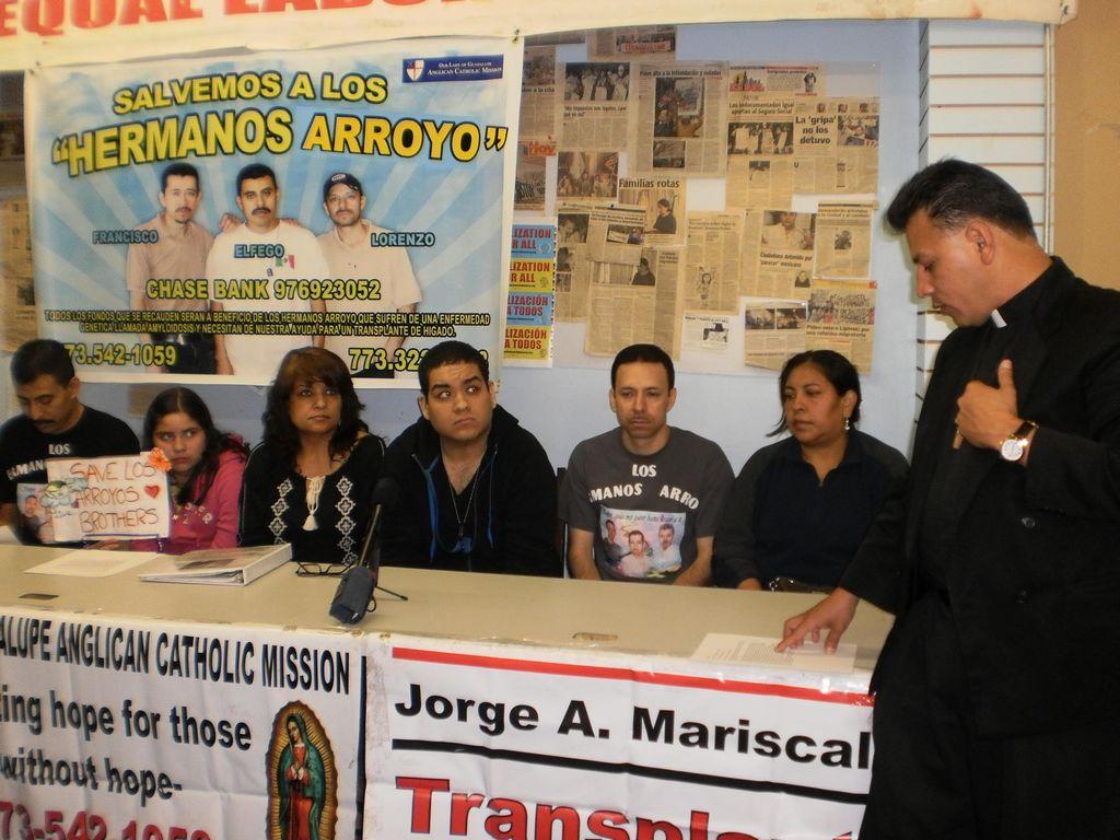 Familiares esperan que hospitales respondan a su pedido de ayuda para salvar la vida de pacientes que necesitan trasplantes.