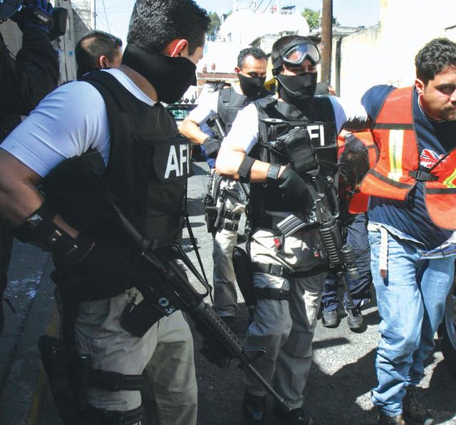 En un operativo contra el crimen organizado, en México.