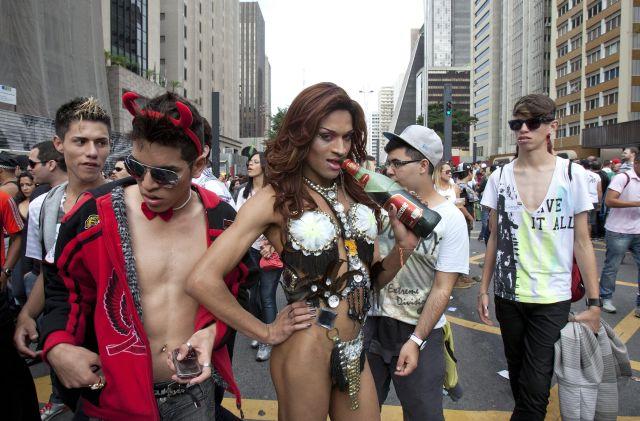 Sao Paulo celebra orgullo gay