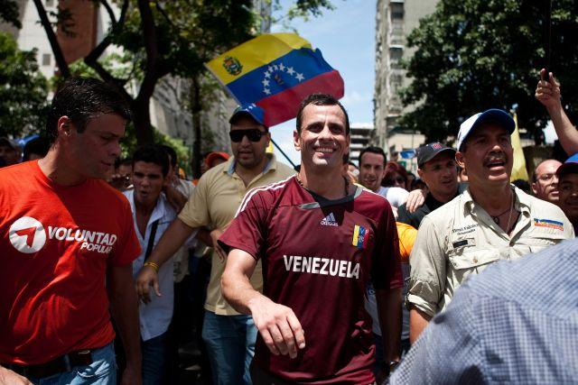 Capriles inicia su sueño político